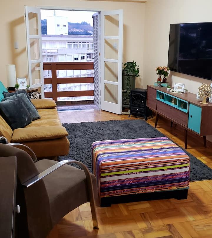 Apartamento no Capivari Equipadíssimo + Elevador.