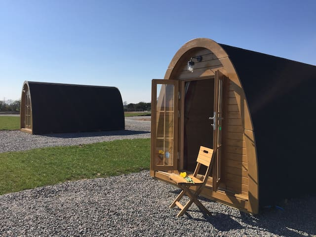 Nairn Glamping pod Highlands Scotland