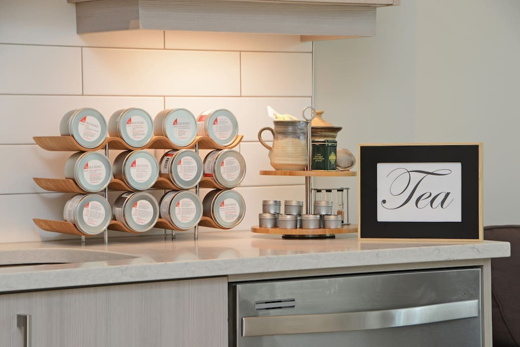 Enjoy some specialty teas during your stay!