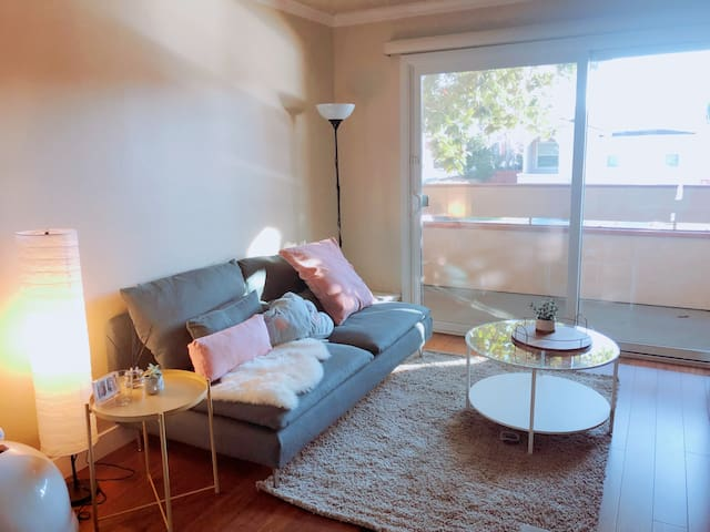 Modern Cozy place near Bart and Oakland airport