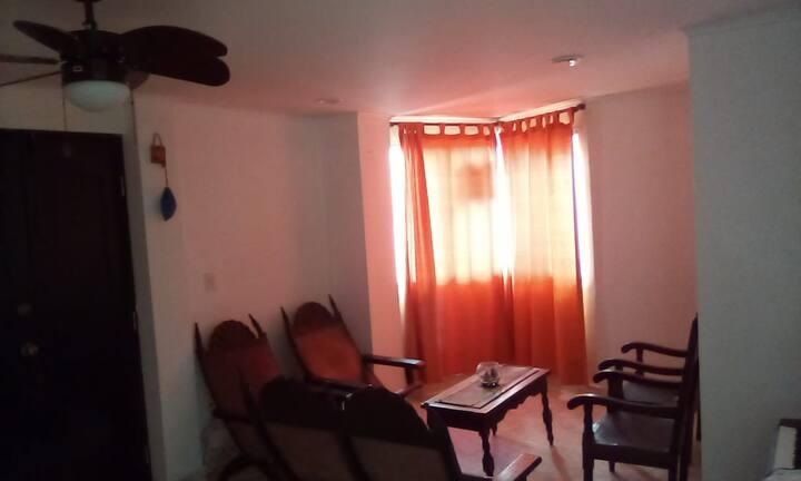 Apartamento en Cartagena- Pie de la Popa 2 Hab