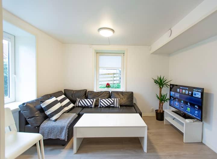 Familievennlig leilighet, høy standard, parkering