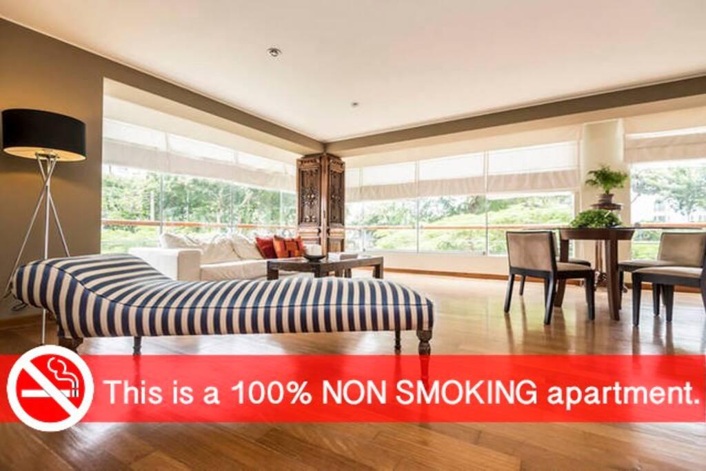 non smoking place