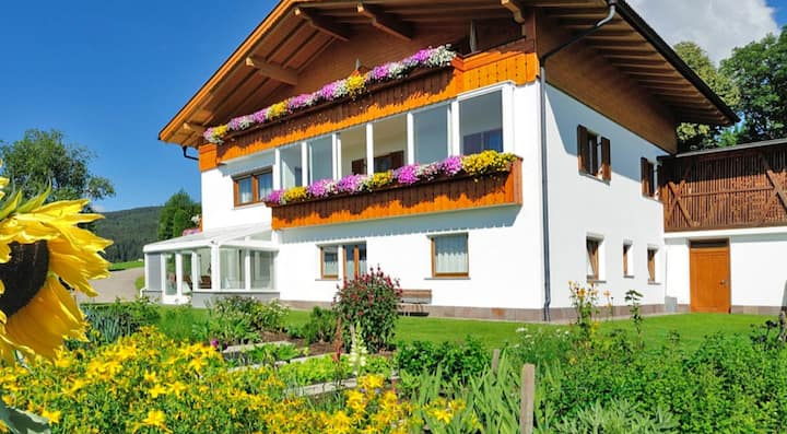 "Charming Apartment ""Haselstaude - Morgensonne"" with Mountain View, Wi-Fi, Terrace & Garden; Parking Available"