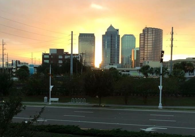 Downtown Tampa Modern Condo / Beautiful City View! - Tampa - Apto. en complejo residencial