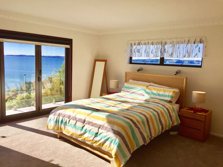 Expansive sea view right from the master bedroom