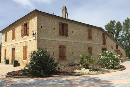 Maison Gasconne de caractère de 230 m2 - Aubiet - Huis
