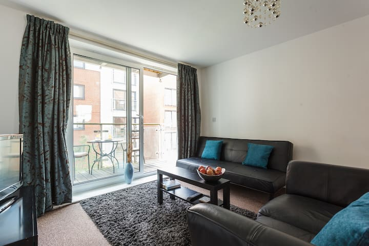 Southampton Centre 2 Bed 2 Bath & Secure Parking