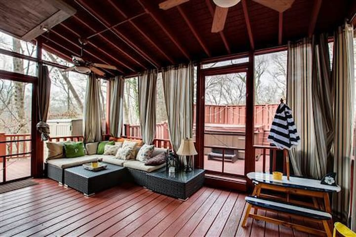 The Tree House of West Meade - Nashville - Hus