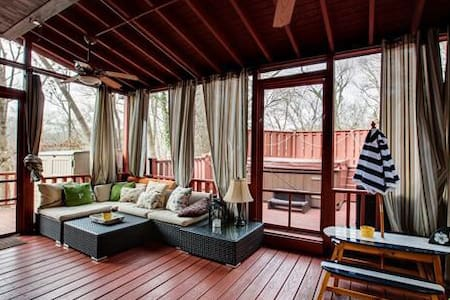 The Tree House of West Meade - Nashville - Casa