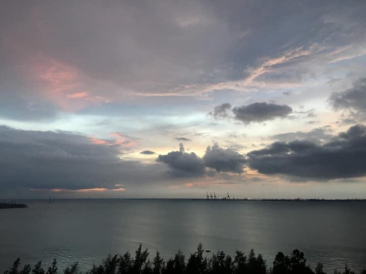 海南儋州白马井*中视金海湾*180度观海海景房 Goldenbay Sea View House