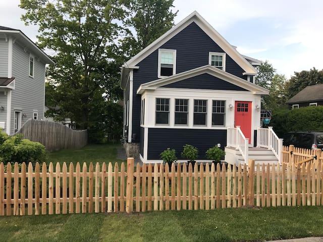 Updated Willard Beach Home