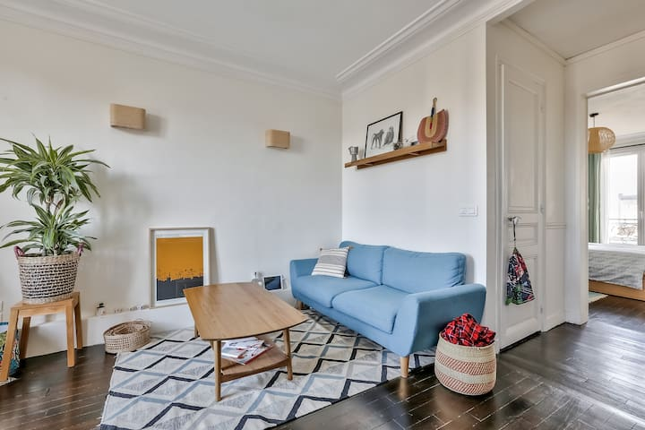 Magnificent 2 rooms - Wifi 🎔Place de la Nation🎔