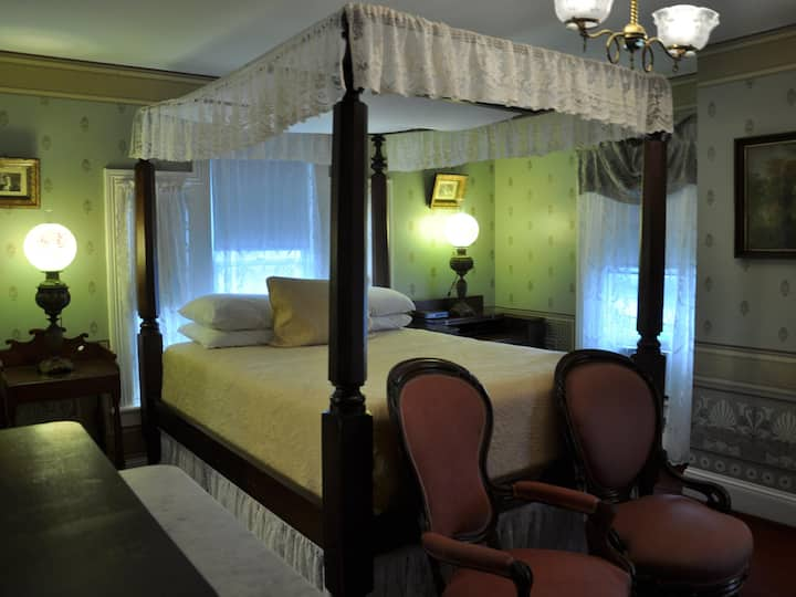 Room 201 at the Normandy Inn