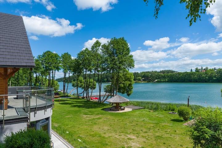 Villa luxuriante en Stezyca, Poméranie avec sauna