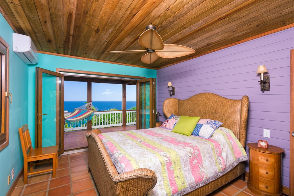 Master Bedroom with a view