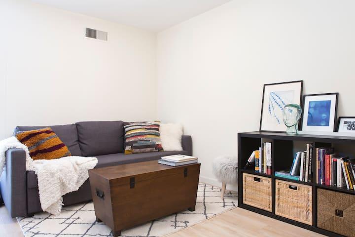 Studio w/private entrance & Dim Sum in Oakland - Oakland - Huis