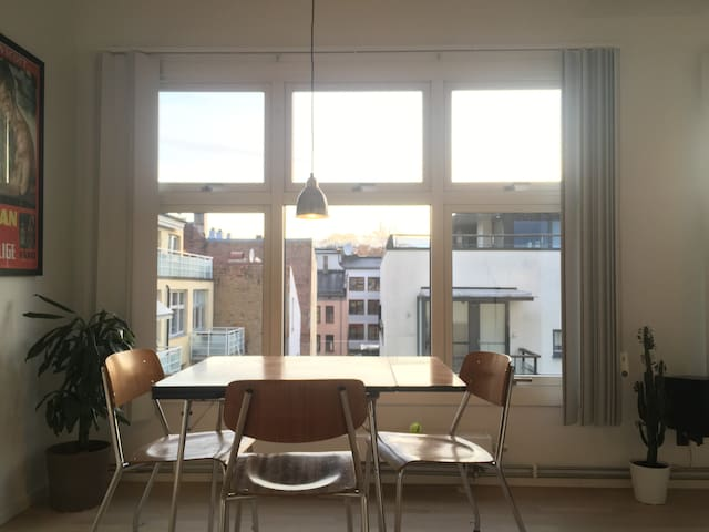 Bright penthouse appartment in Oslo City Centre