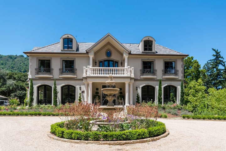 16,000 sq.ft. Private Estate in Los Gatos