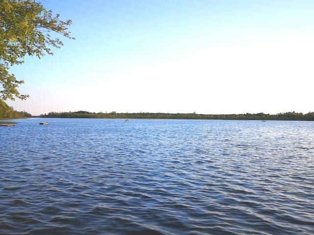 Great fishing on lake Dalrymple