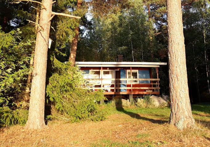 Traditional Finnish Summer Cottage Knipan