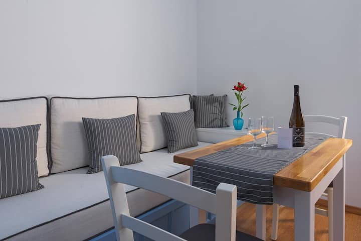 Deluxe Studio with Private Balcony and Sea View C