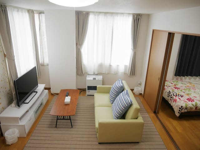 Nk201 Sapporo St 10min FREE Wi-Fi 5P can stay