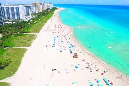 Great Miami Beach Getaway Across Beach