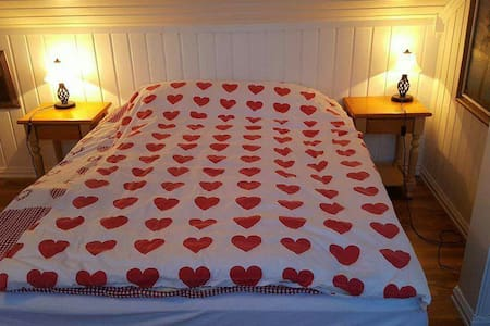 Room Double Size Bed w/  Balcony - Lillehammer - Casa