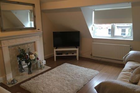 Clean, modern room
