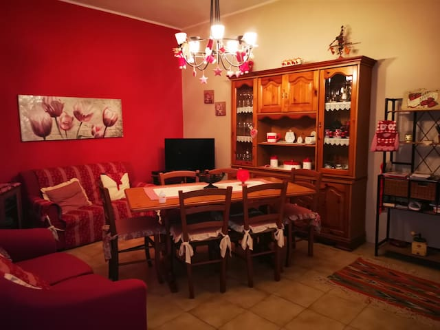 Villa Pietri im Thermen Gebiet.