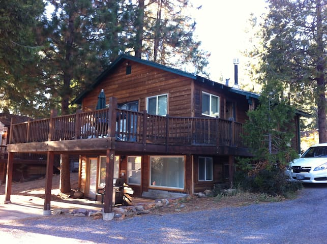 Remodeled cabin with large deck- upper unit only.