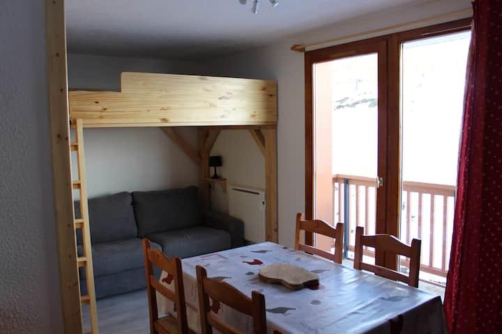 Studio de 20 m² à St François Longchamp (4 pers.)