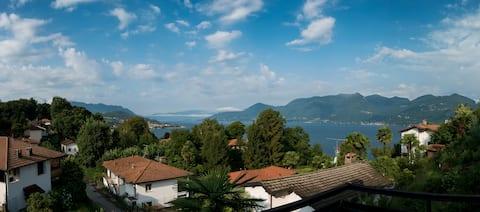 Prachtig uitzicht op het meer voor het actieve gezin.
