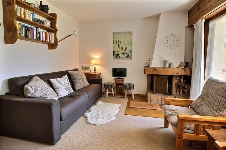 Cosy appartment in center of Les Carroz (5p)