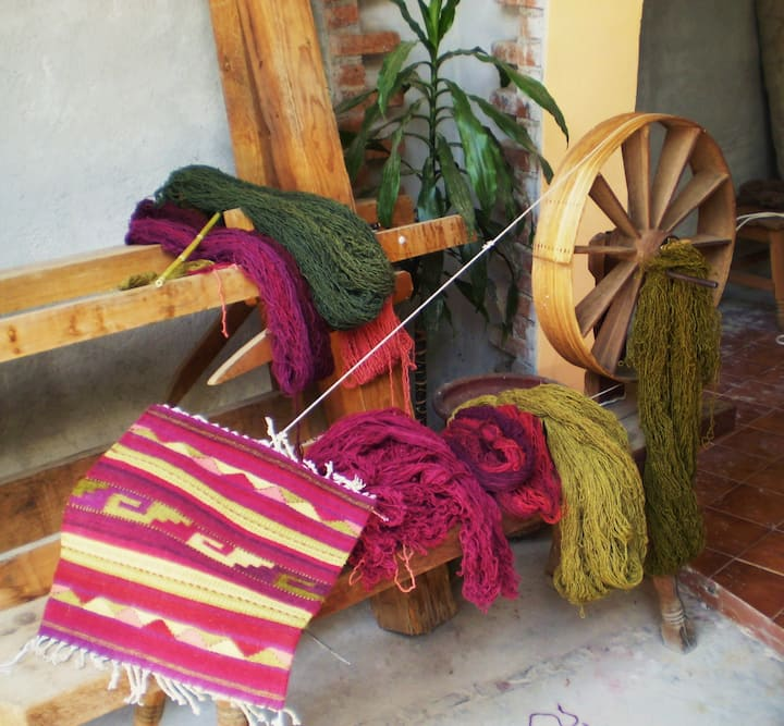 An historic weaving tradition