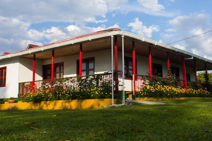 Casa Laureles: en el corazón del paisaje cafetero