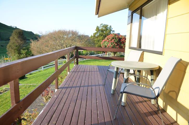 Deck outlook - sunny spot