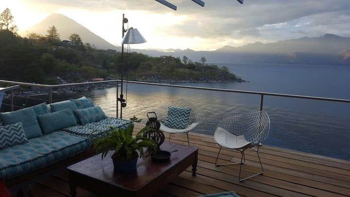 Wonderful house in Lake Atitlan