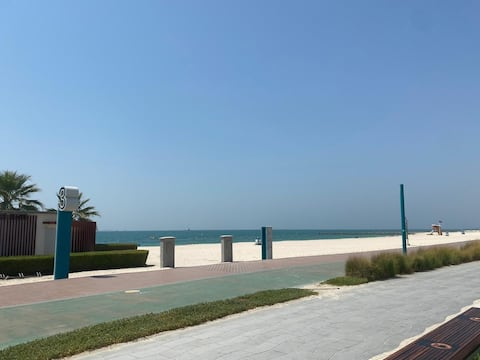 Independent Studio in Beach Front Villa