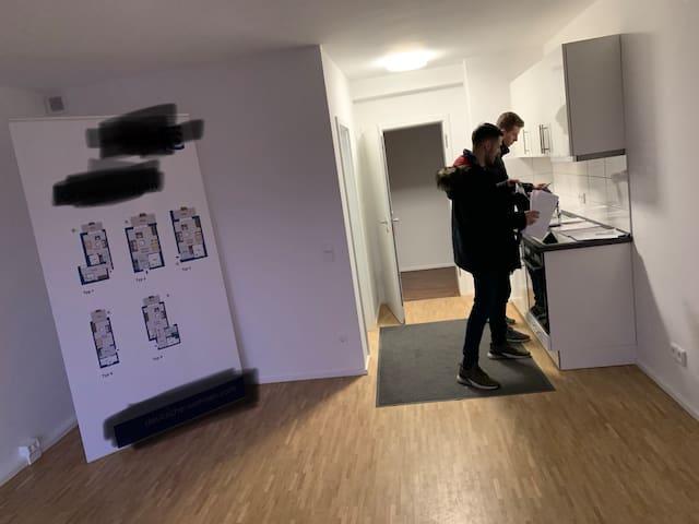 1-Zimmer Wohnung in ruhiger und angenehmer Gegend!