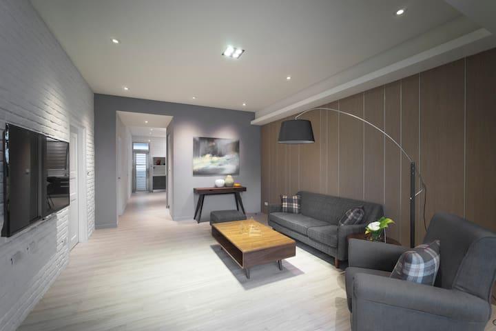 Four House 簡約典雅Soho三房公寓 - 花蓮 - Apartamento