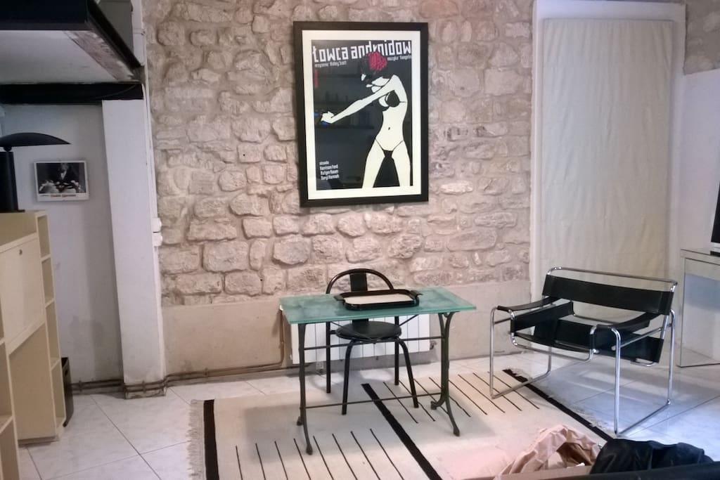 Loft de style entre bastille le marais appartements louer paris - Achat loft ile de france ...