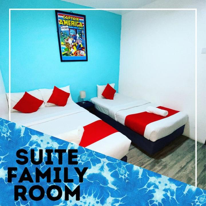 Hotel Aman Nilai / KLIA- Suite Family Room 3-4pax