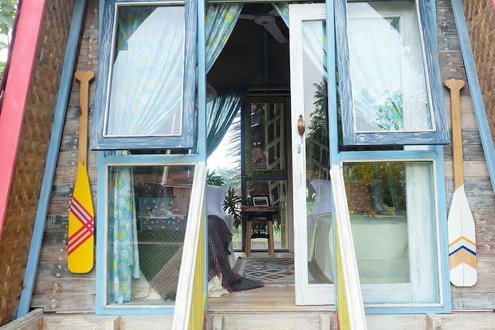 Wooden House REJASA in RIMBA DESA resort Jepara