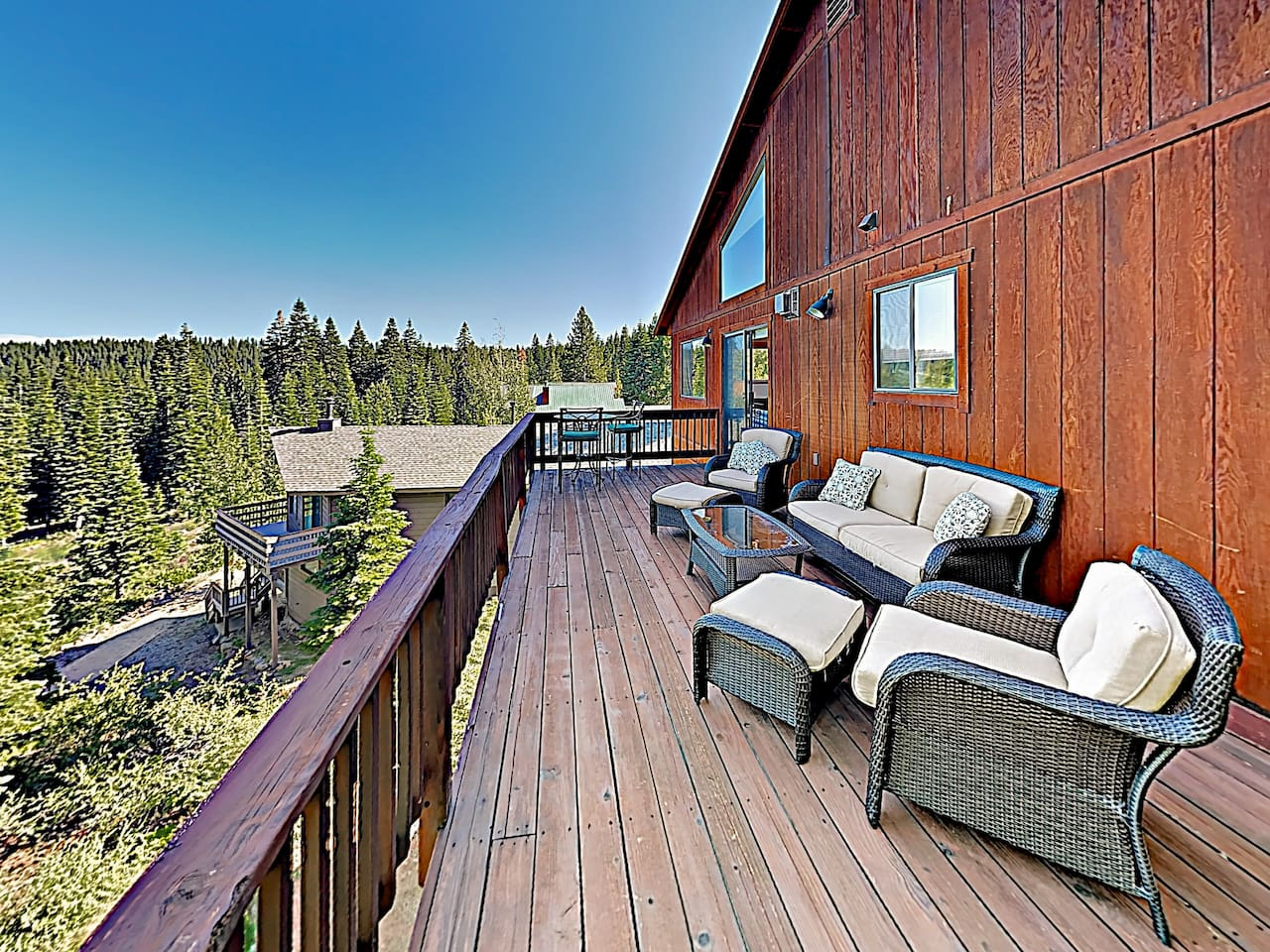 Welcome to Truckee! This Tahoe Donner paradise is professionally managed by TurnKey Vacation Rentals.