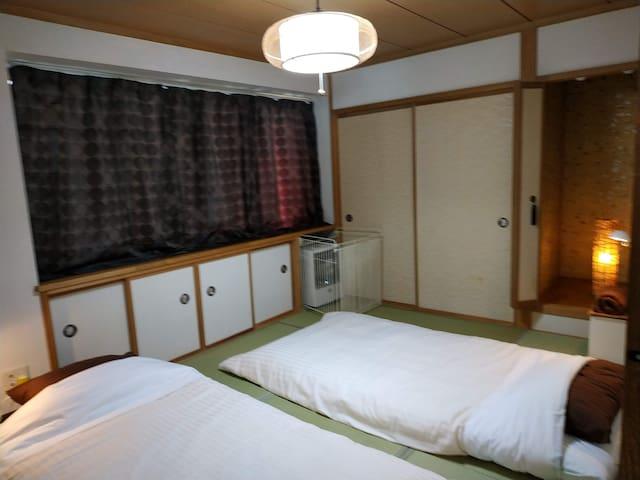 Bay View House -Tatami Room(OTARU 小樽)