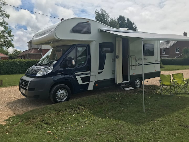 Lovely Motorhome on Airbnb, travel the UK/EU