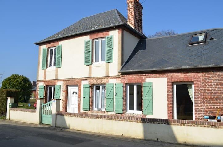 Maison de campagne, près de Fécamp