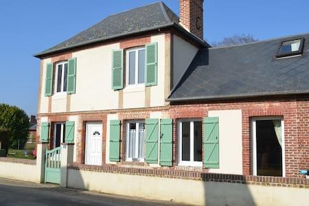 Maison de campagne, près de Fécamp - Limpiville - Rumah